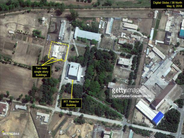Figure 7 Two new buildings now present near the IRT Research Reactor Credit DigitalGlobe/38 North via Getty Images