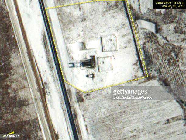 Figure 7b The Ihari Driver Training and Test Facility test stand site has remained essentially unchanged during the past five months as seen in...