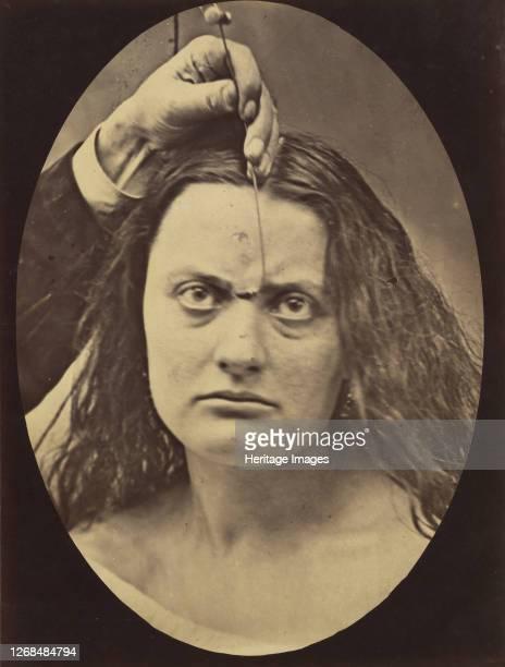 Lady Macbeth strong expression of cruelty 185456 printed 1862 Artist Duchenne de Boulogne Adrien Alban Tournachon