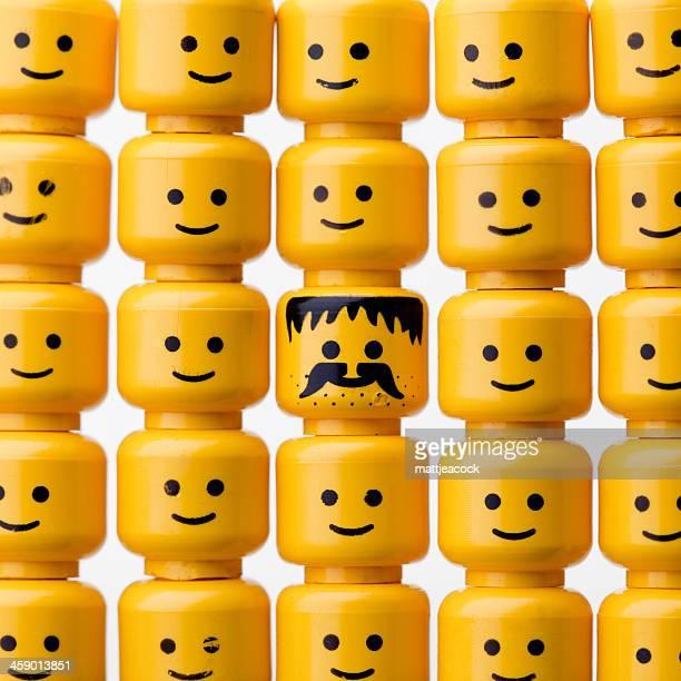Figuras LEGO cabezales