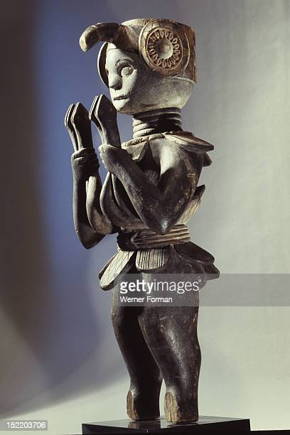 Figure of a bush spirit Sierra Leone Mende
