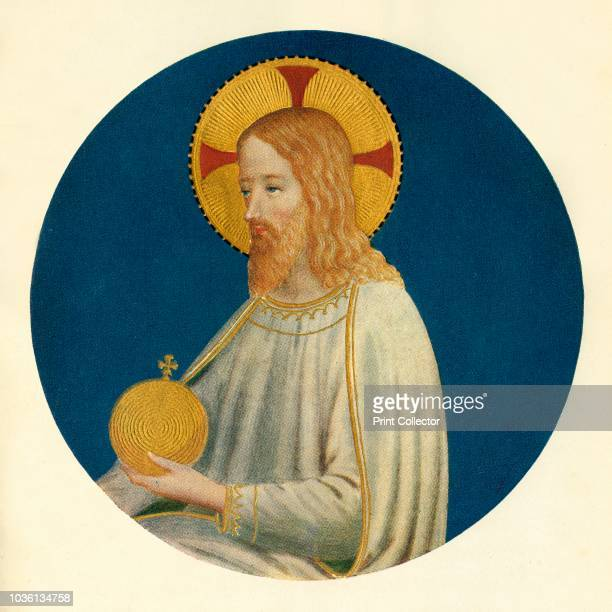 Figure of Christ', 15th century, . Italian Early Renaissance painter Fra Angelico was a Dominican friar , and carried out commissions in Florence,...