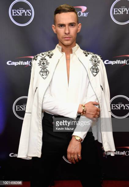 Figure skater Adam Rippon attends The 2018 ESPYS at Microsoft Theater on July 18, 2018 in Los Angeles, California.