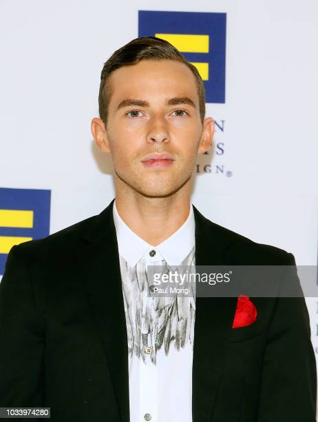 Figure skater Adam Rippon attends the 22nd annual Human Rights Campaign National Dinner at the Walter E Washington Convention Center on September 15...