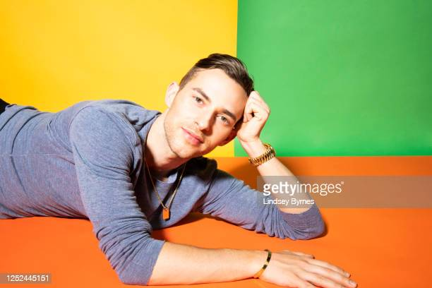 Figure skater Adam Rippon is photographed for Logo 30 on April 22 2019 in Los Angeles California