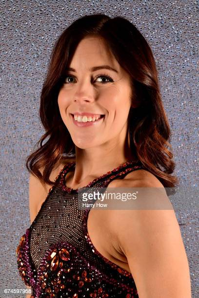 Figure skater Ashley Wagner poses for a portrait during the Team USA PyeongChang 2018 Winter Olympics portraits on April 28 2017 in West Hollywood...