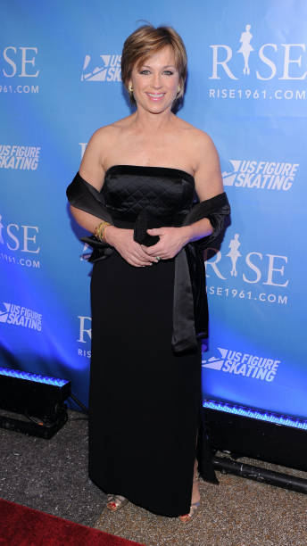 Figure Skater Dorothy Hamill Attends The New York Premiere Of RISE At Best Buy