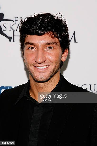 Figure skater Evan Lysacek attends the 2009 Skating with the Stars at Wollman Rink in Central Park on April 6 2009 in New York City