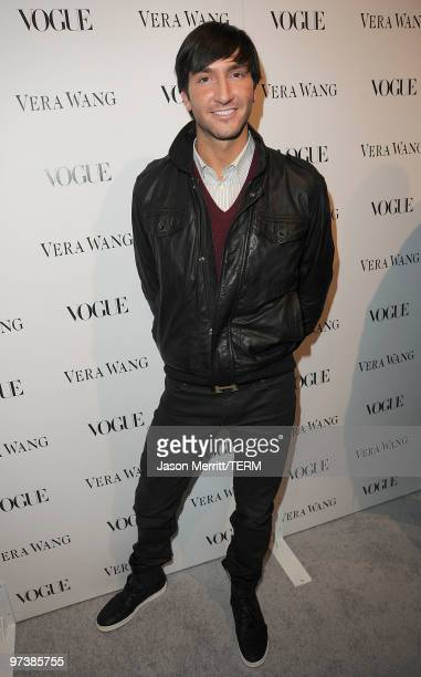 Figure skater Evan Lysacek attends the Vera Wang Store Launch at Vera Wang Store on March 2 2010 in Los Angeles California