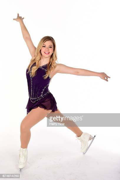 Figure skater Gracie Gold poses for a portrait during the Team USA PyeongChang 2018 Winter Olympics portraits on April 28 2017 in West Hollywood...