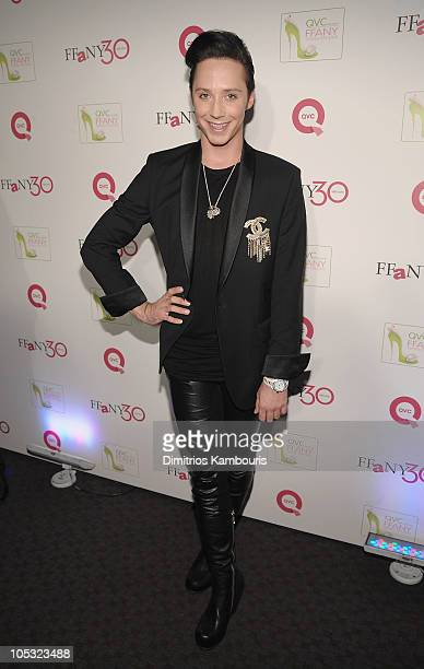"""Figure skater Johnny Weir attends """"FFANY Shoes on Sale"""" Benefit for Breast Cancer Research and Education, presented by QVC at Frederick P. Rose Hall,..."""