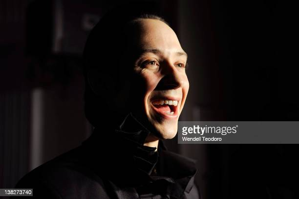 Figure Skater Johnny Weir attends the 2012 Human Rights Campaign Gala at The Waldorf=Astoria on February 4 2012 in New York City