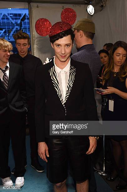 Figure skater Johnny Weir attends The 7th Annual Shorty Awards on April 20 2015 in New York City