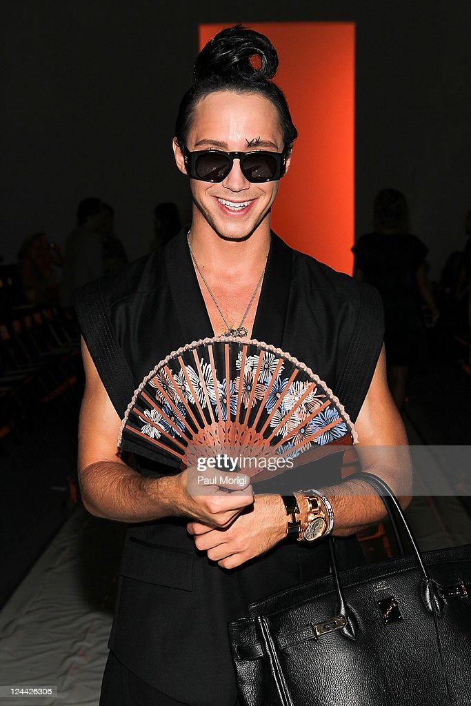 General Idea - Front Row & Backstage - Spring 2012 Mercedes-Benz Fashion Week : News Photo