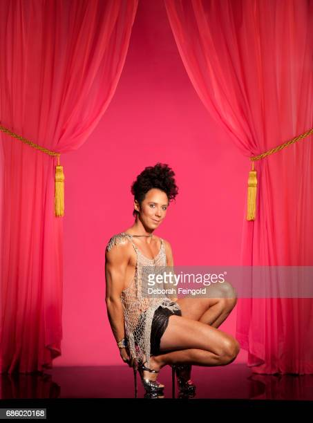 Figure skater Johnny Weir poses for a portrait in 2010 in New York City New York