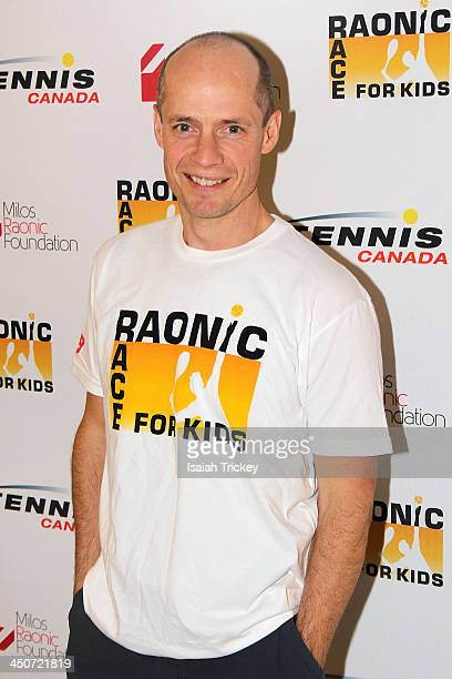 Figure Skater Kurt Browning attends The 2nd Annual Raonic Race For Kids Fundraiser Benefitting The Milos Raonic Foundation on November 19 2013 in...
