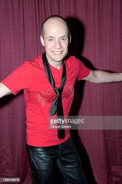 Figure skater Kurt Browning backstage during Spotlight Productions Rock The Ice III at Peterborough Memorial Centre on February 15 2012 in...