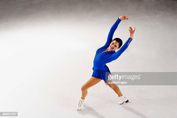 figure skater - スケート靴 ストックフォトと画像