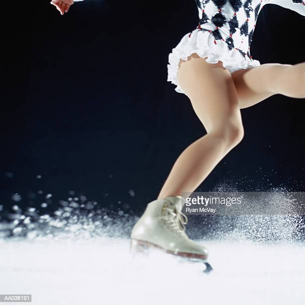 figure skater - ice skate stock pictures, royalty-free photos & images