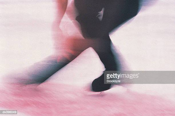 figure skater - figure skating stock pictures, royalty-free photos & images