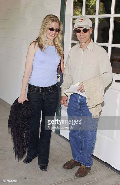 Figure skater Scott Hamilton and his wife Tracie arrive at the 14th Annual Hollywood Charity Horse Show on May 1 2004 at the Los Angeles Equestrian...