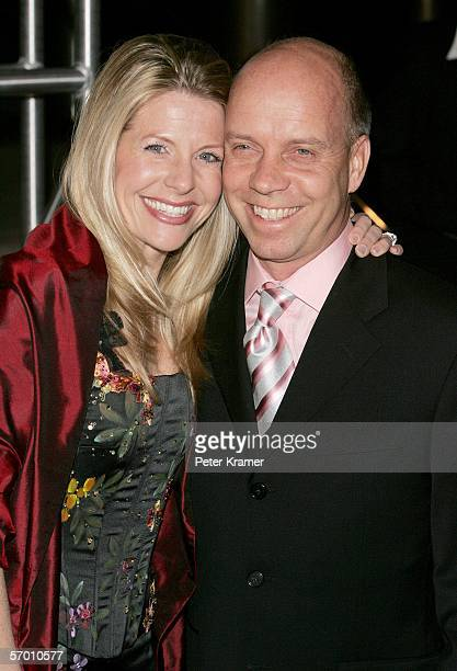 Figure skater Scott Hamilton and wife Tracie Robinson arriveVanessa Lengies at the Us Weekly and Rolling Stone Oscar Party held at the Pacific Design...