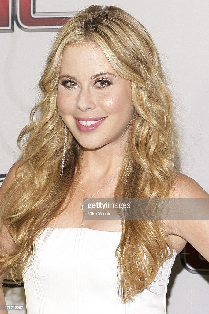 Figure skater Tara Lipinski arrives at ESPN the Magazine's 'Body Issue' 5th annual ESPY's event at Lure on July 16, 2013 in Hollywood, California.
