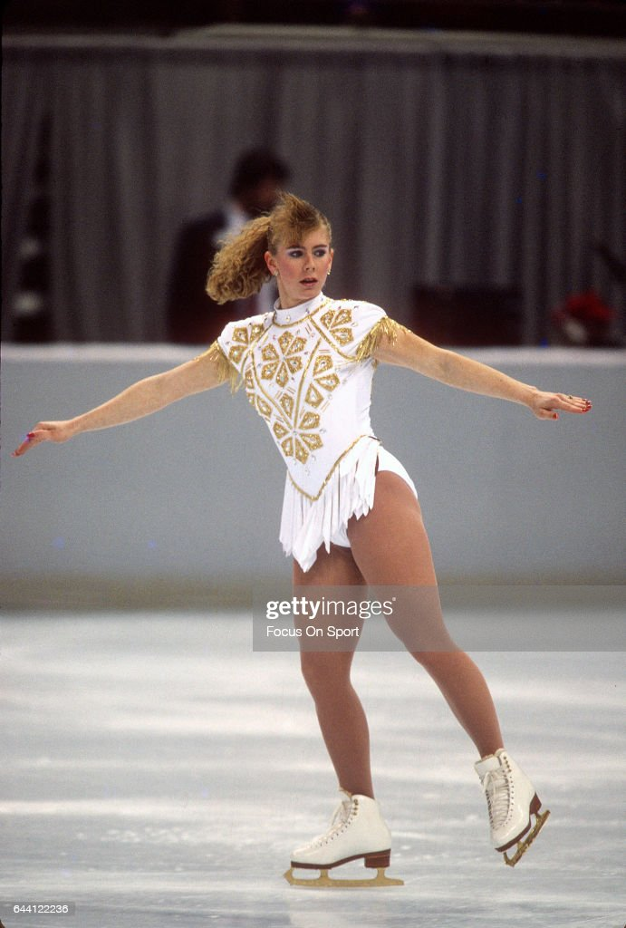 Tonya Harding - Figure Skating : News Photo