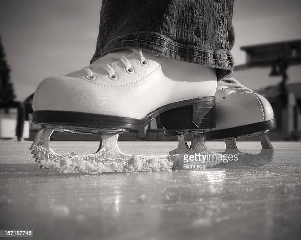 Figure Skates (BW)