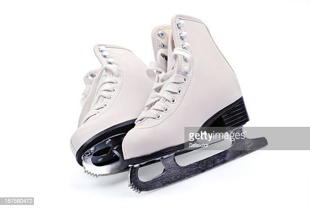 figure skates - ice skate stock pictures, royalty-free photos & images