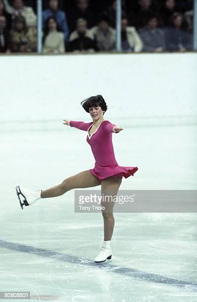 1976 Winter Olympics USA Dorothy Hamill in action at Olympic Eisstadion Innsbruck Austria 2/4/19762/15/1976 CREDIT Tony Triolo