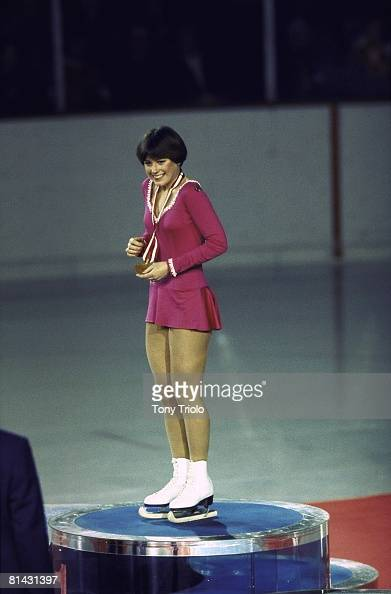 Winter Olympics Usa Dorothy Hamill Victorious With Gold