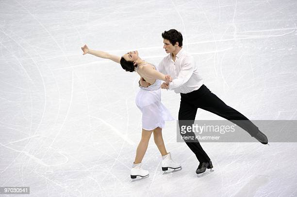 2010 Winter Olympics Canada Tessa Virtue and Scott Moir in action during Ice Dancing Free Dance at Pacific Coliseum Vancouver Canada 2/22/2010 CREDIT...