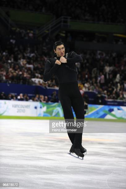 2010 Winter Olympics USA Evan Lysacek in action during Men's Free Skating at Pacific Coliseum Lysacek won gold Vancouver Canada 2/18/2010 CREDIT...