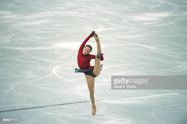 2014 Winter Olympics Russia Yulia Lipnitskaya in action during Women's Free Program at Iceberg Skating Palace Sochi Russia 2/9/2014 CREDIT David E...