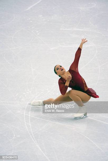 2018 Winter Olympics Belgium Loena Hendrickx in action during Women's Single Free Skating Final at Gangneung Ice Arena Gangneung South Korea...