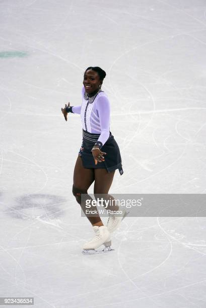 2018 Winter Olympics France Mae Berenice Meite in action during Women's Single Free Skating Final at Gangneung Ice Arena Gangneung South Korea...