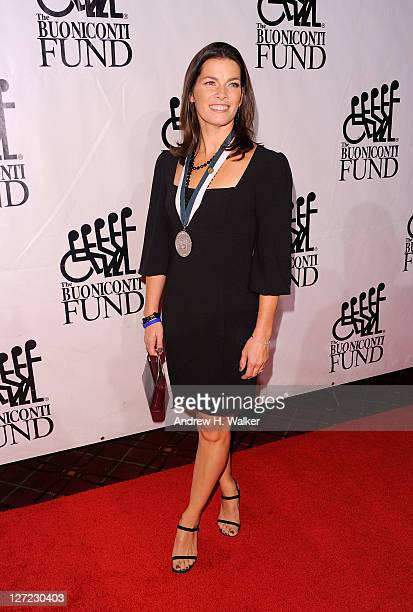 Figure skating champion Nancy Kerrigan attends the 26th Annual Great Sports Legends Dinner to benefit the Buoniconti Fund To Cure Paralysis at The...