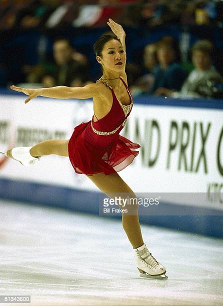 Figure Skating Grand Prix Michelle Kwan in action during competition Kitchener CAN