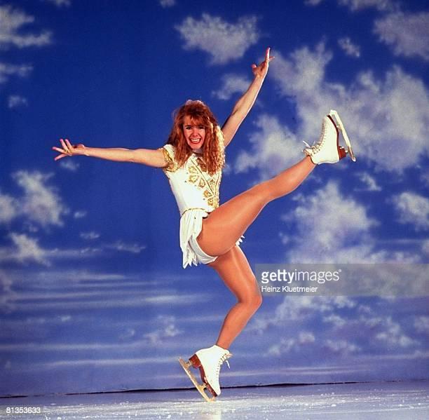 Figure Skating Portrait of Tonya Harding Portland OR