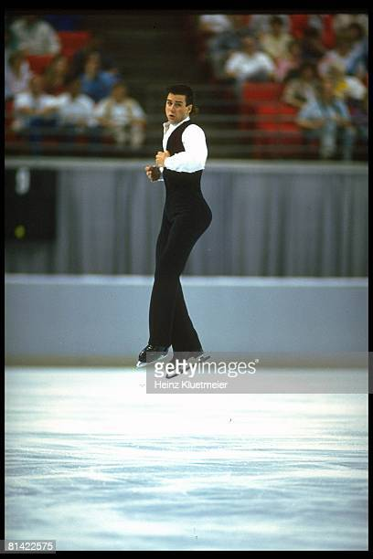 Figure Skating US Championships Christopher Bowman in action during competition at Orlando Arena Orlando FL 1/8/19921/11/1992