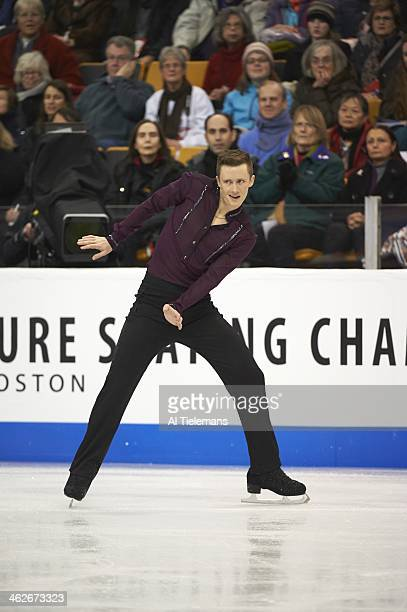 US Championships Jeremy Abbott in action during Men's Short Program at TD Garden Boston MA CREDIT Al Tielemans