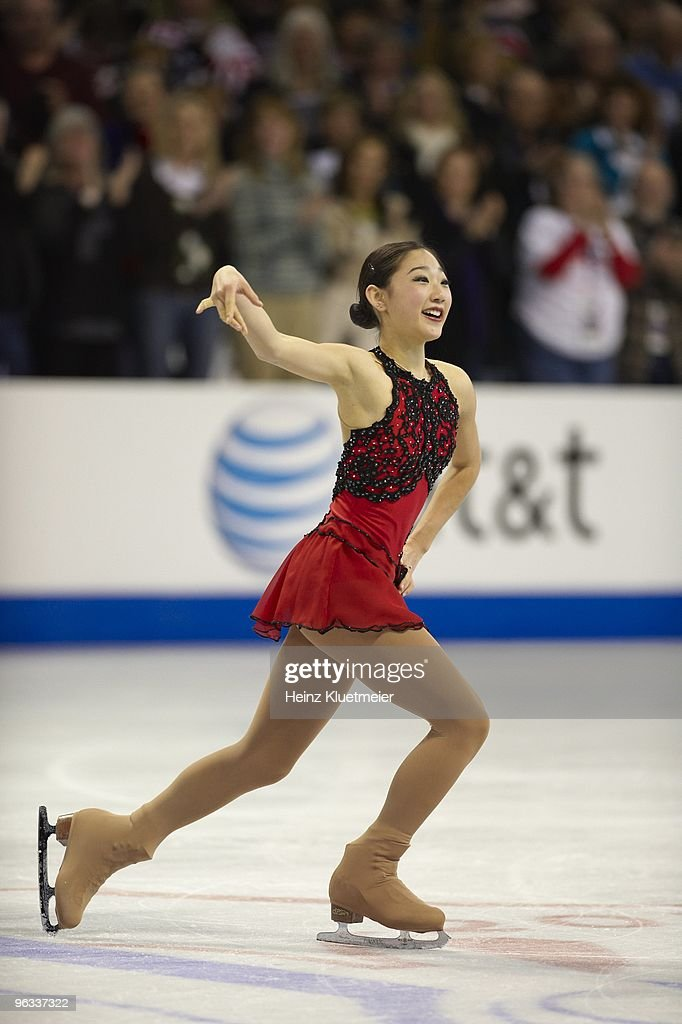 Mirai Nagasu, 2010 AT&T US Figure Skating Championships : News Photo