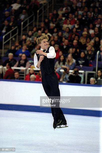 Figure Skating US Championships Timothy Goebel in action during free program Los Angeles CA 1/11/2002