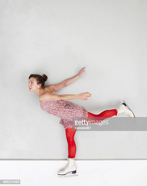 Figure skating woman