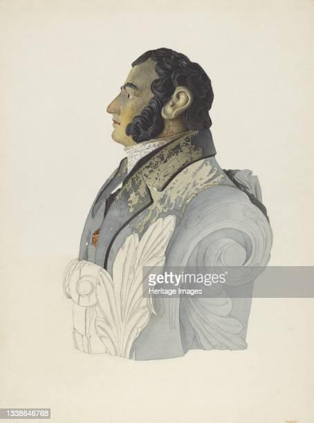 Figurehead, 1935/1942. Artist John W Kelleher.