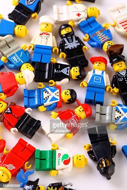 LEGO figures background