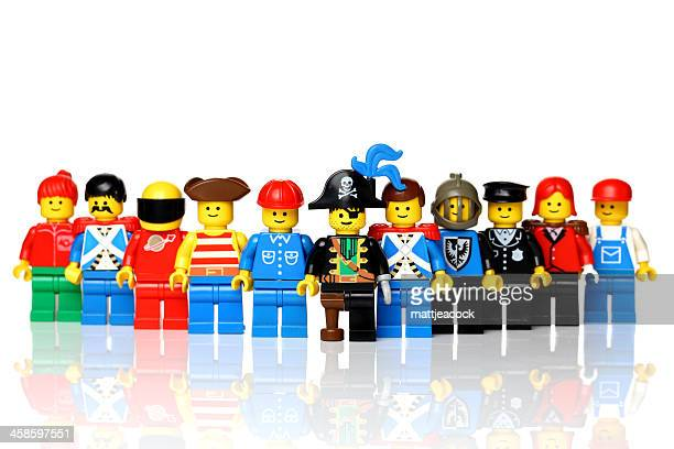 lego figures - lego stock pictures, royalty-free photos & images