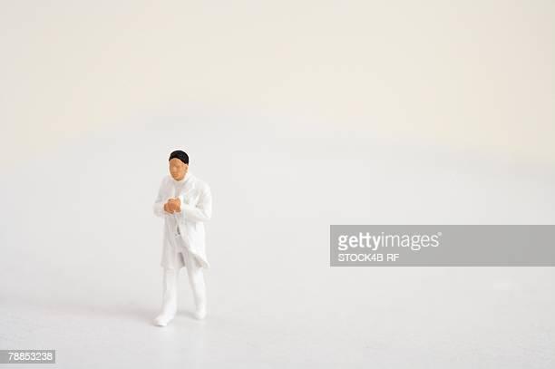 Figurine of a doctor