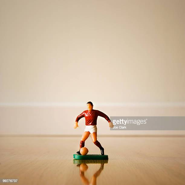 Figurine of a soccer player